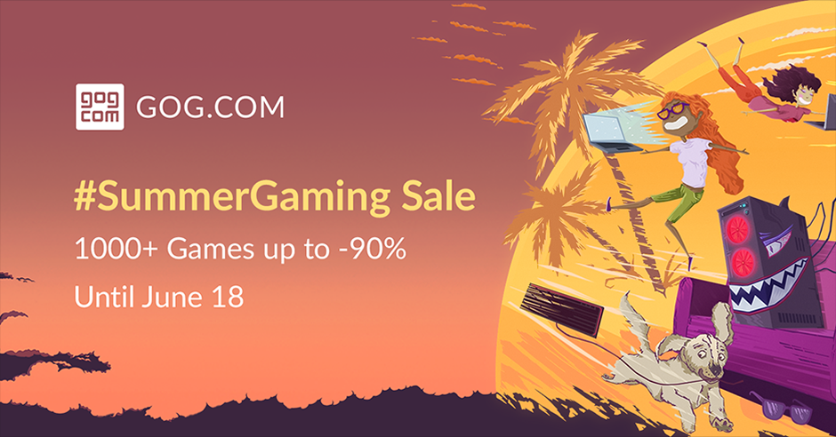 gog summer sale banner photo