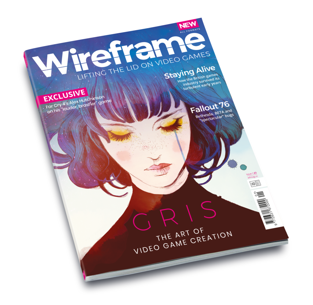 Interested In Game Development? Wireframe Could Be The Magazine For You