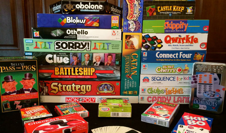 Board Games Lockdown